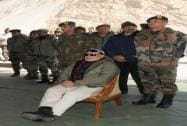 Prime Minister Narendra Modi at Siachen Base Camp
