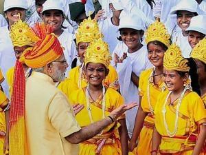 PM Narendra Modi addresses nation on 71st Independence Day