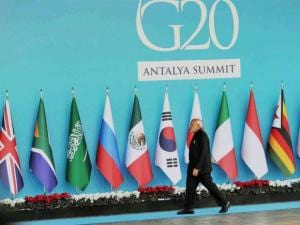 Narendra Modi at the G20 Turkey 2015