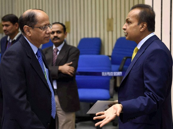 Cabinet Secretary,  Ajit Seth, Reliance Group Chairman,  Anil D Ambani, Re-Invest 2015,  Renewable Energy, Energy Global