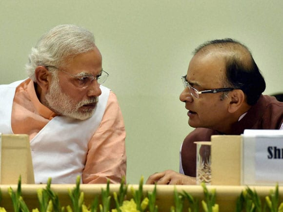 Prime Minister of India, Narendra Modi, Finance Minister of India, Arun Jaitley