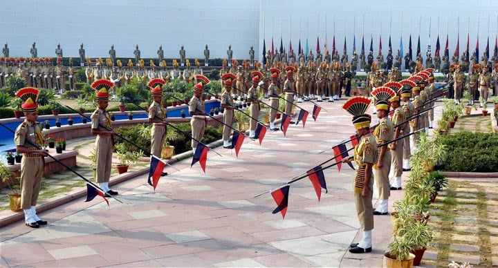 Police personnel, pay, homage, martyrs, Police Commemoration Day, Police Memorial, New Delhi