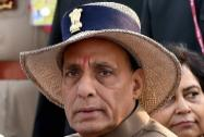 Union Home Minister Rajnath Singh during the Police Commemoration Day in New Delhi