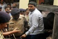 Ranjit Kohli alias Rakibul Hussain being escorted by the police at Civil Court