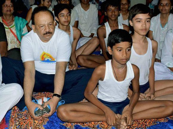 Science, Technology, Earth Sciences Harsh Vardhan, Yoga, World Yoga Day, International Yoga Day