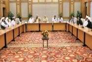 Prime Minister Narendra Modi in a meeting with a delegation from the Muslim community