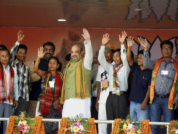 Amit Shah, Political Pictures