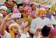 Shanawaz Hussain and Yunus Khan