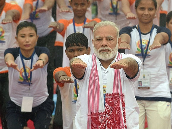 Narendra Modi, Prime Minister, yoga day 2017, Yoga Day, Yoga, International Yoga Day 2017