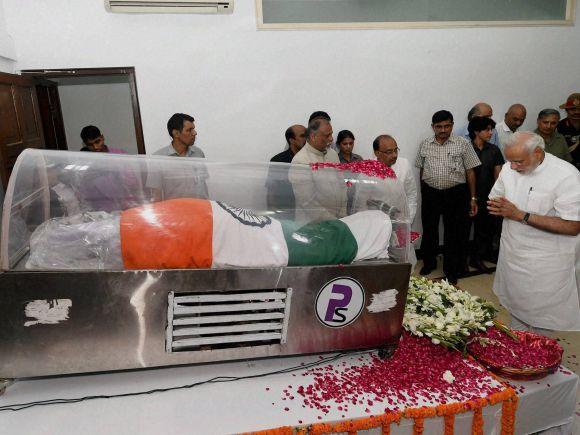 Narendra Modi, APJ Abdul Kalam, Abdul Kalam, Missile Man, Shillong, Former President of India, Bharat Ratna, Rajaji Marg, New Delh