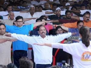 Raghubar Das, Jharkhand Chief Minister at Morhabadi ground in Ranchi, Jharkhand 01