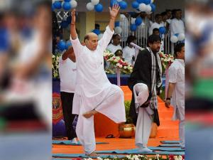 Rajnath Singh, Union Home Minister in Lucknow 01