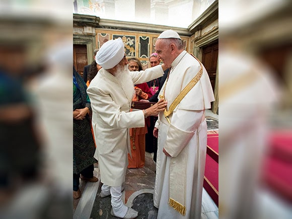 Pope Francis, inter religious meeting , Buddhist, Sikh, Vatican, religion