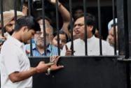 AAP's Patiala MP Dharamvira Gandhi with Ali Anwar