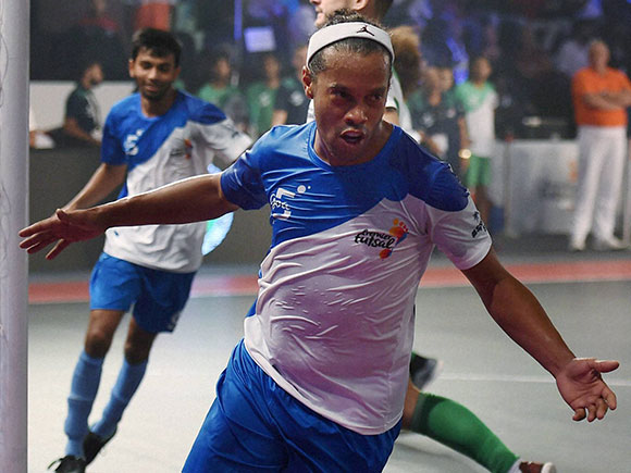 Ronaldhino,Futsal, premier futsal, Premier Futsal Football League, futsal premier league india