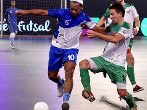 Ronaldhino during Premier Futsal Football League