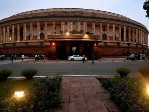 Lighting at Parliament ahead of the Independence Day