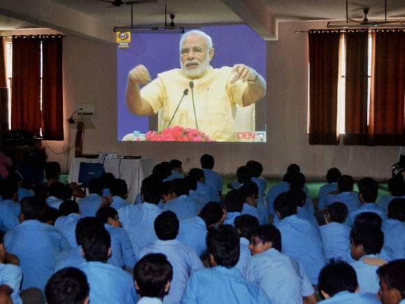 Teachers Day celebrations, Narendra Modi