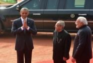 President Obama at the Ceremonial Reception
