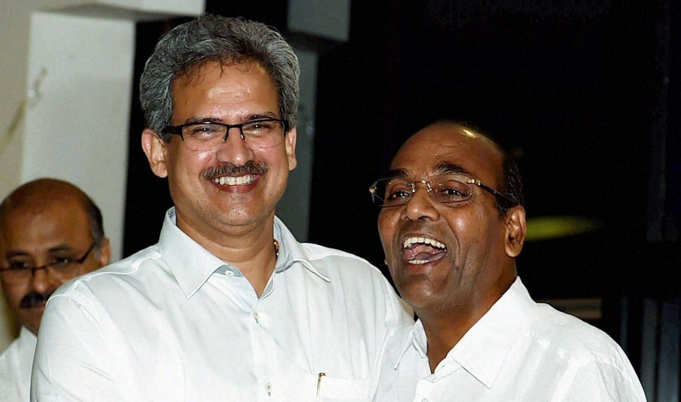 Shiv Sena, MP's Anil Desai, Anant Gete, press conference, Shiv Sena Bhavan