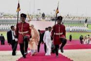 Prime Minister Narendra Modi with Sri Lankan President Maithripala Sirisena