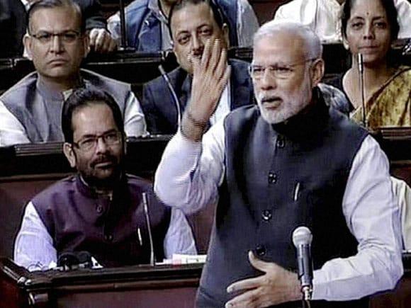 Prime Minister of India, Narendra Modi, Rajya Sabha