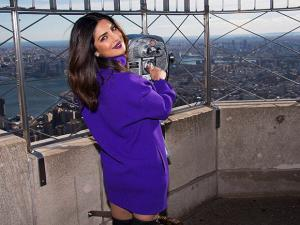 Priyanka Chopra during the Empire State Building