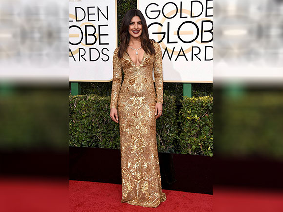 Priyanka Chopra, Golden Globe Awards