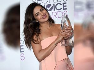 Priyanka Chopra  at the People's Choice Awards
