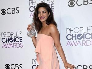 Priyanka Chopra during the People's Choice Awards at the Microsoft Theater