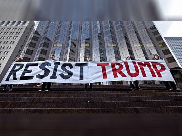 Protest, Donald Trump, President Donald Trump, inauguration