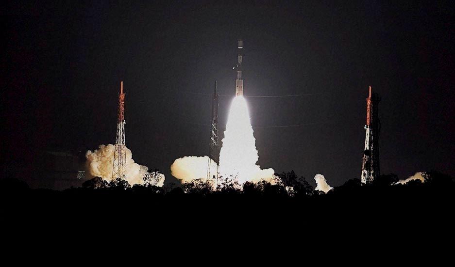 Indian Space Research Organisation's, Polar Satellite, Launch, Vehicle, (PSLV-C26), carrying, Indian Regional Navigation Satellite System, lifts off, Satish Dhawan, Space Center, Sriharikota