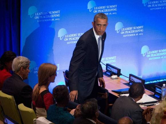 US President, Barack Obama, 70th session of the United Nations General Assembly, U N headquarters, New York