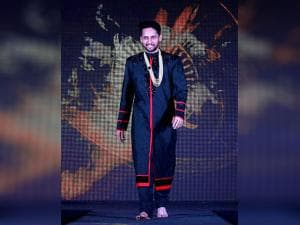 Shuttler Parupalli Kashyap walks the ramp