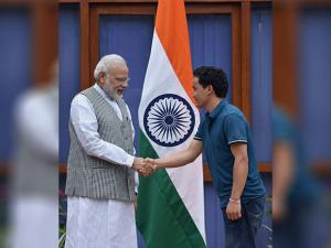 Narendra Modi greets ace shooter Jitu Rai