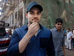 Sooraj Pancholi at a Sessions Court for the hearing of Jiah Khan's death case, in Mumbai