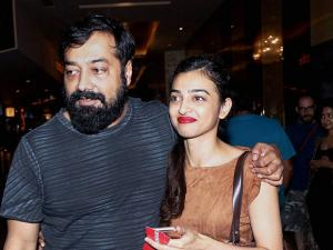 Anurag Kashyap and actor Radhika Apte during the felicitation of winners by the MAMI Film Club in Mumbai