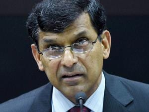 Raghuram Rajan interacts with the media after his last monetary policy review