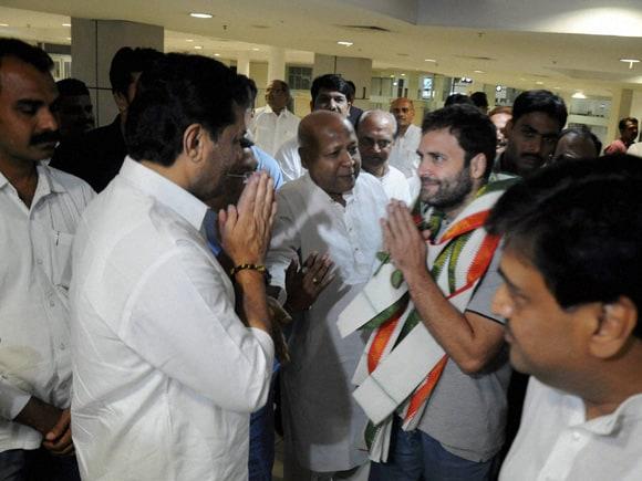 Rahul Gandhi, Congress, Babasaheb International Airport, Nagpur, Ashok Chavan, Narayan Rane, BJP, Modi, Maharashtra, Fadnavis