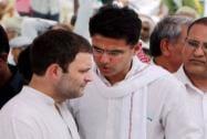 Rahul Gandhi with Rajasthan Congress Chief Sachin Pilot