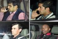 Wrestler Sushil Kumar, cricketers Mohit Sharma, Stephen Fleming and Dwayne Bravo