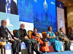 during inauguration of Raisina Dialogue 2016 in New Delhi
