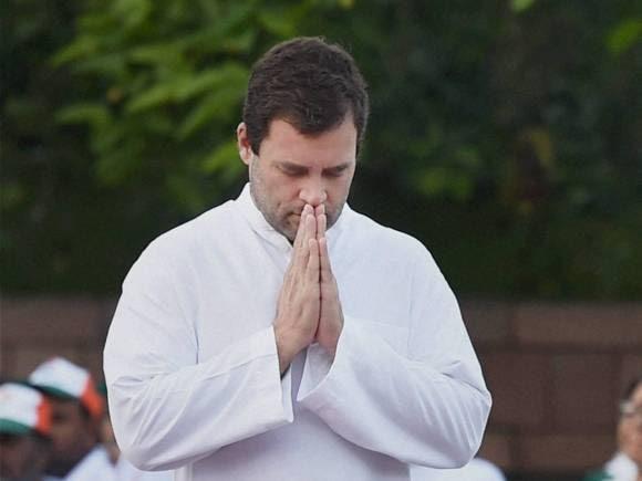 Rahul Gandhi, Rajiv Gandhi, 71st Birth Anniversary, Vir Bhumi, New Delhi