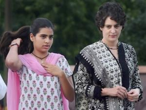 Priyanka Vadra and daughter Miraya Vadra