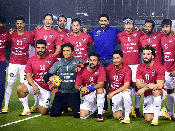 Charity Match, Ranbir Kapoor, All Stars Football Club, charity, football match