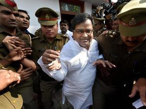 UP minister in Samajwadi Party government Gayatri Prajapati