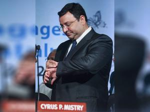Cyrus Mistry during meeting