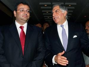 Ratan Tata  with Cyrus Mistry
