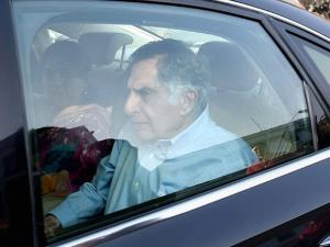 Ratan Tata along with BJP National spokeperson Shaina NC
