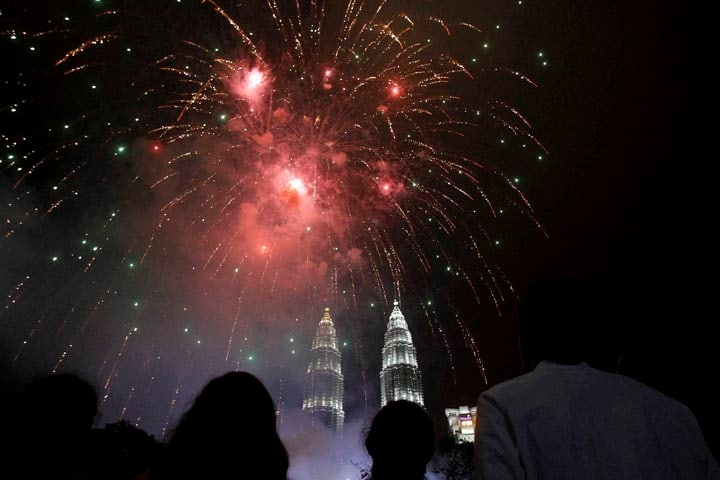 Happy New Year, New Year celebrations, new year, 2015, good bye 2014, 31st december, fireworks